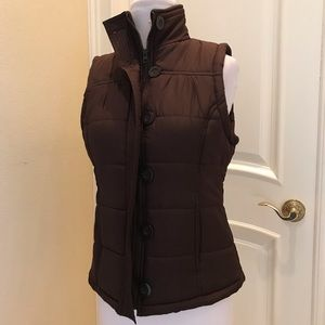 Outer Edge brown puffer jacket